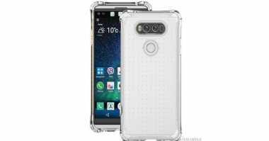 Ini Wujud LG V20 di Dalam Case?
