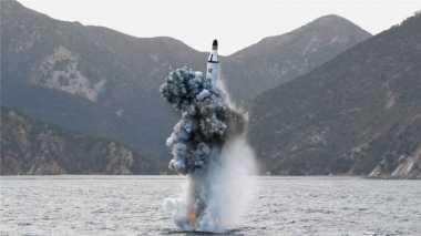 Korea Utara Rilis Video Peluncuran Rudal Balistik