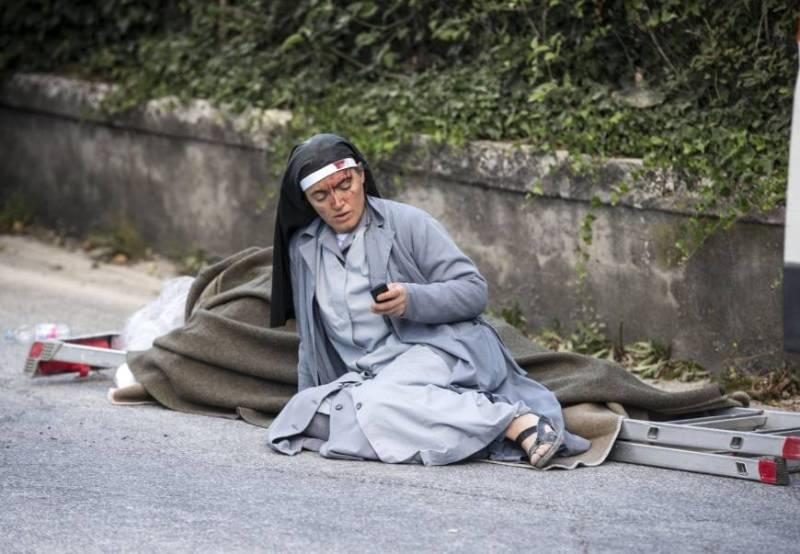 Sempat Ucap Selamat Tinggal, Suster Marjana Selamat dari Gempa Italia