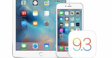 Apple Rilis Update Terakhir untuk iOS 9