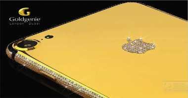 Pre-Order iPhone 7 Berlapis Emas Dibuka