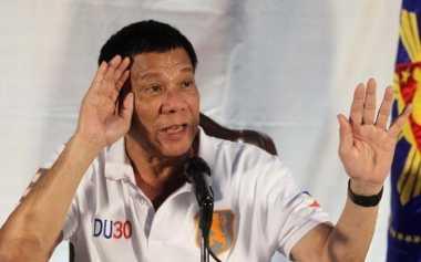 """Sepak Terjang Presiden Duterte, """"Sang Penghukum"""""""