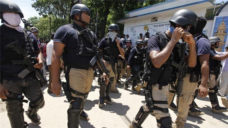 Baku Tembak, Polisi Tewaskan Pelaku Teror di Kafe Bangladesh