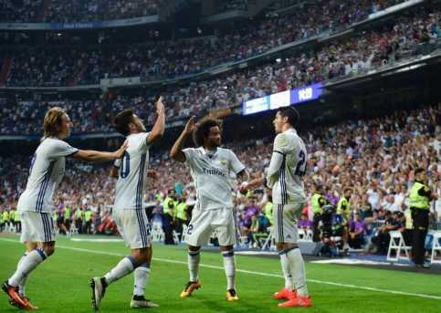 Real Madrid Taklukkan Celta Vigo 2-1