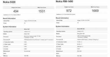 Perbandingan Spesifikasi Android Nokia 5230 dan RM-1490