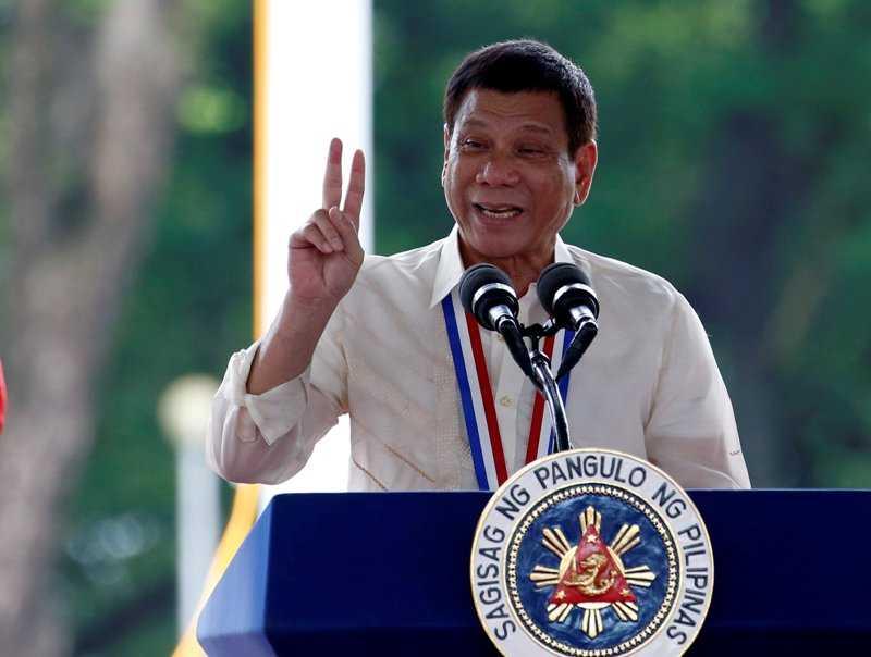 Duterte Banderol Kepala Polisi Korup Seharga Rp571,4 Juta
