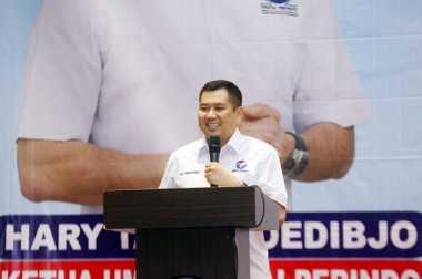 \Hary Tanoe Gelar Sharing dengan Pengusaha di Palembang\