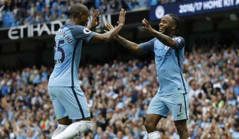 Taklukkan West Ham 3-1, Man City ke Puncak Klasemen
