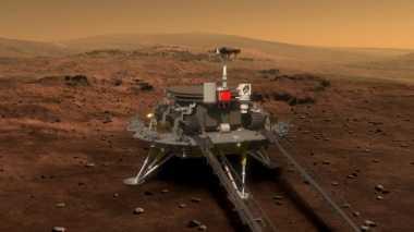 China Pamer Rover Mars untuk Misi 2020