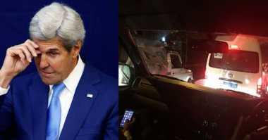Ketika Menlu AS John Kerry Terjebak Macet di India