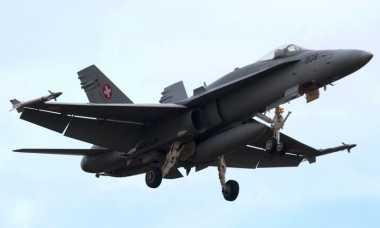 Militer Swiss Adakan Pencarian Kapal Jet Tempur yang Hilang