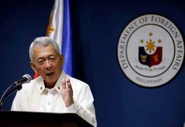 Menlu Filipina: Abaikan Putusan PCA, China Jadi Pecundang