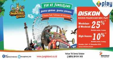 MNC Play Diskon Harga Tiket Jungleland Adventure Theme Park