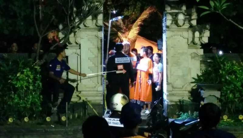 Rekonstruksi Pembunuhan Polisi di Bali Digelar Dini Hari