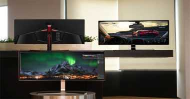 LG Bakal Pamer Dua Monitor Curved di IFA 2016