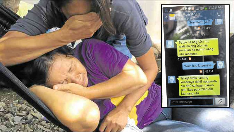 Ibu Ini Terima SMS Anaknya Dipenggal Abu Sayyaf