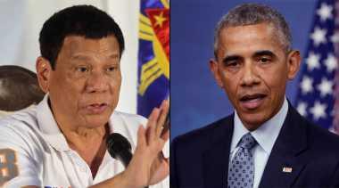 Duterte: Diskusikan HAM, Obama Harus Dengarkan Saya Dulu