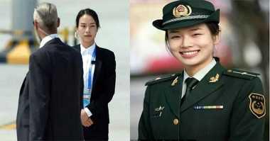 Netizen Anugerahi Tentara Ini Gelar Pengawal Tercantik di KTT G20