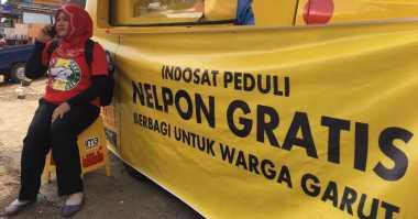 Operator Telekomunikasi Ramai-Ramai Bantu Korban Banjir di Garut