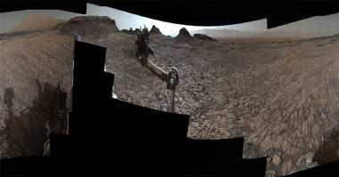 Menjelajah Panorama Mars dengan Teknologi 360 Derajat