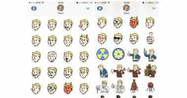 Versi Terbaru Fallout Shelter Bawa Fitur Stiker di iMessage