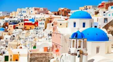 \Inspirasi Rumah Bergaya Santorini dari Yunani\