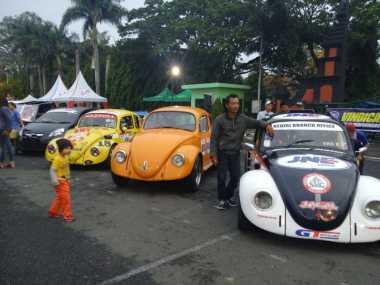 Kontes Slalom Meriahkan The Real Indonesian VW Gathering di Malang