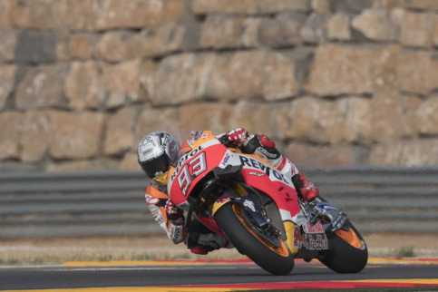 Marc Marquez Kuasai Kualifikasi MotoGP Aragon