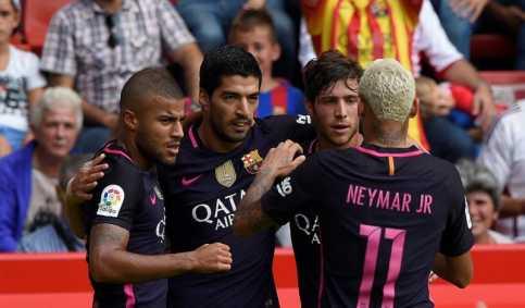 Barcelona Hancurkan Sporting Gijon 5-0