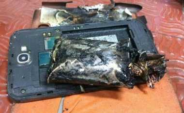 Samsung Galaxy Note 2 Terbakar di Pesawat India