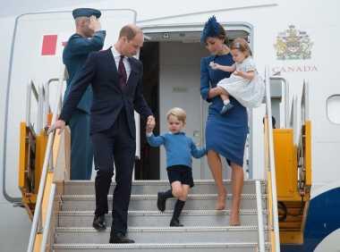 Keluarga Kerajaan Inggris Kunjungi Kanada