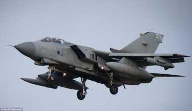Jet Tempur Inggris Bombardir Markas Terakhir ISIS di Irak