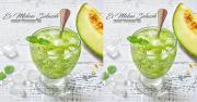 Kudapan Akhir Pekan, Es Melon Selasih saat Kumpul Keluarga