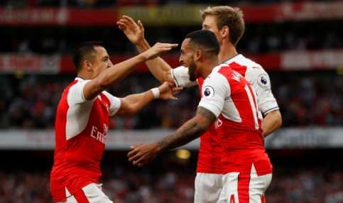 Arsenal Bantai Chelsea 3-0 di Emirates Stadium