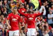 Paul Pogba Girang Cetak Gol Perdana untuk Man United