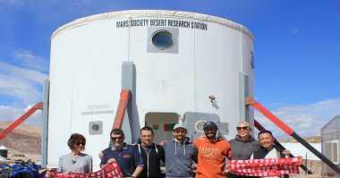 NASA Mulai Program 160 Hari Simulasi Mars