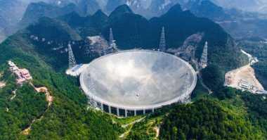 Teleskop Radio Terbesar Cari Kehidupan Planet Asing