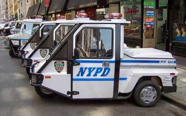 Polisi New York Pernah Gunakan Kendaraan Patroli Mirip Bemo