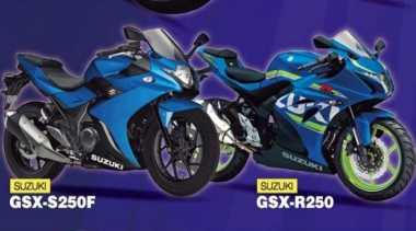 Saingi Kawasaki Ninja 250 & Honda CBR250RR, Suzuki Siapkan 2 Varian GSX250