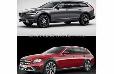 Perbedaan Volvo V90 Cross Country dan Mercy E Class All Terrain