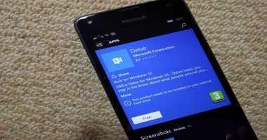 Versi Mobile Aplikasi Office Delve Mendarat