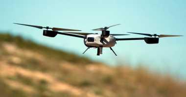 Ilmuwan Ciptakan Drone Tanpa Baterai
