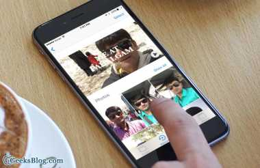 Cara Membuat Video Kece di Memories iOS 10
