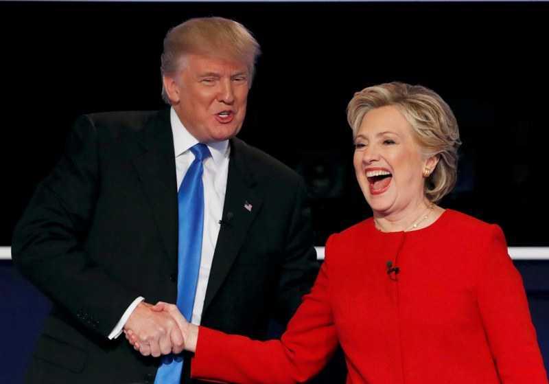 DEBAT CAPRES AS: Jika Trump Menang, Hillary Siap Dukung Penuh