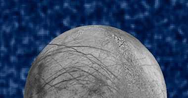 Hubble Temukan Semburan Air di Bulan Jupiter Europa