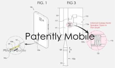Samsung Patenkan S Pen dengan Speaker Tertanam untuk Galaxy Note