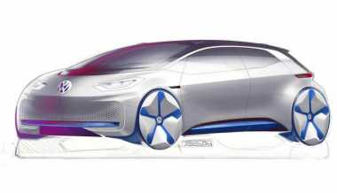 Mobil Listrik VW Berdesain Futuristis Ini Bakal Ganggu BMW i3
