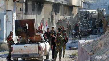 Rebut Aleppo, Pasukan Suriah Intensifkan Serangan