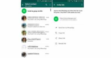 WhatsApp Uji Fitur Link Grup Publik
