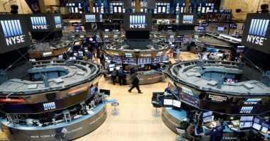 \Wall Street Menguat Pasca-Debat Perdana Capres Amerika\